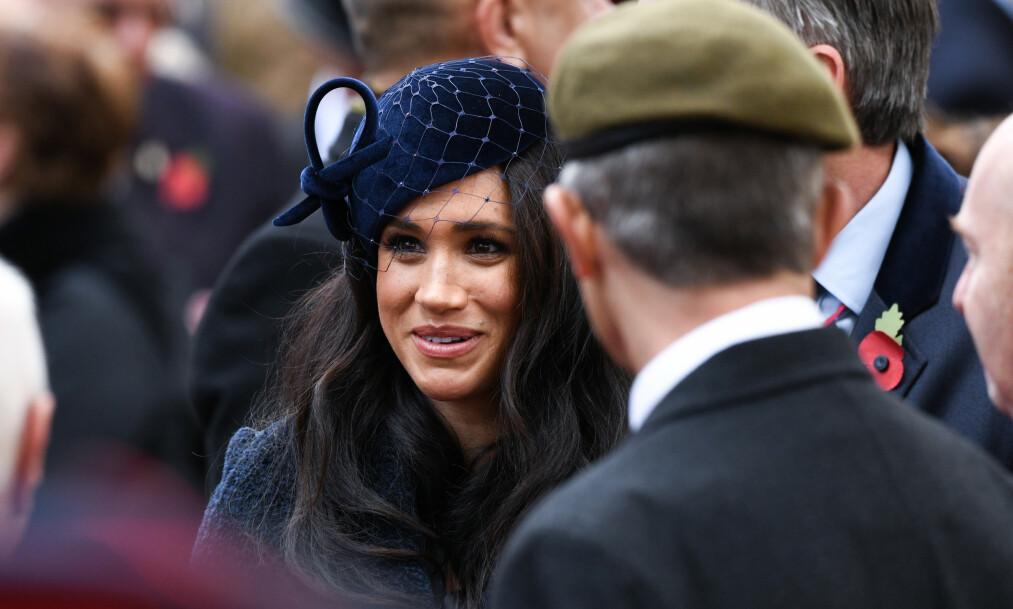 <strong>RYKTER:</strong> Siden Meghan ble medlem av den britiske kongefamilien i fjor, har hun fått enorm medieoppmerksomhet. Nå reagerer hun og ektemannen på flere saker som har omhandlet henne - og går til sak mot britisk storavis. Advokatene deres tar nå et oppgjør med ryktene. Foto: NTB Scanpix