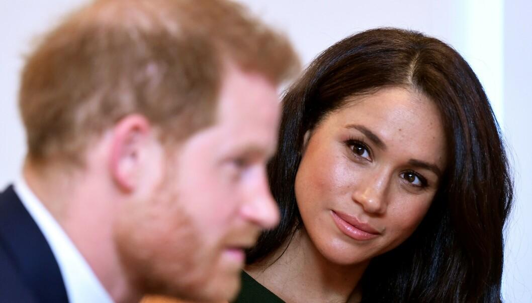 <strong>TIL SAK:</strong> I oktober gikk prins Harry og hertuginne Meghan til sak mot en britisk storavis, da de mener avisen har spredd flere falske rykter. Foto: NTB Scanpix