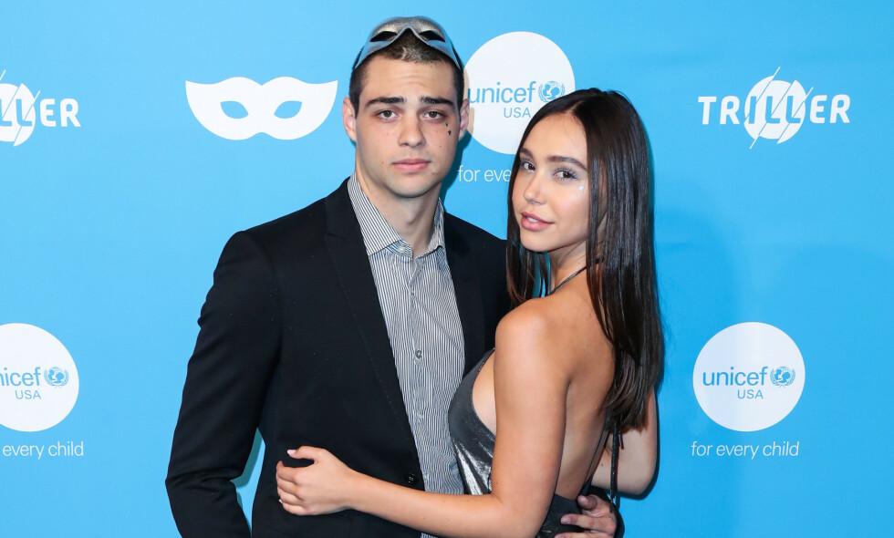 KJÆRESTER: Skuespiller Noah Centineo (23) har tatt Hollywood med storm den siste tiden. Privat har han funnet kjærligheten med Instagram-stjernen Alexis Ren (22). Foto: NTB Scanpix