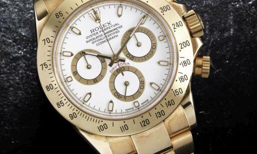 image: Gjemte stjålne Rolex-klokker i skjeden