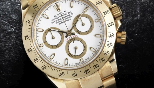 Gjemte stjålne Rolex-klokker i skjeden