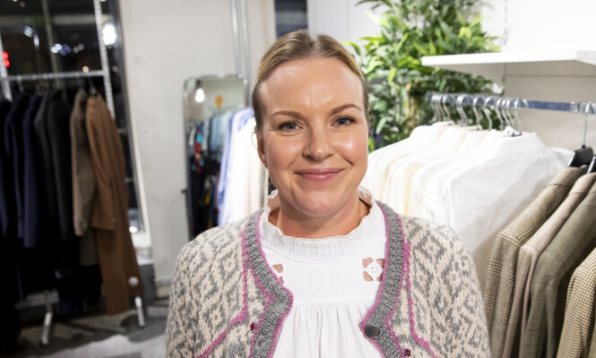 Hilde Kjønstad håper flere unike klesskatter vil komme til butikkene. FOTO: NTB scanpix