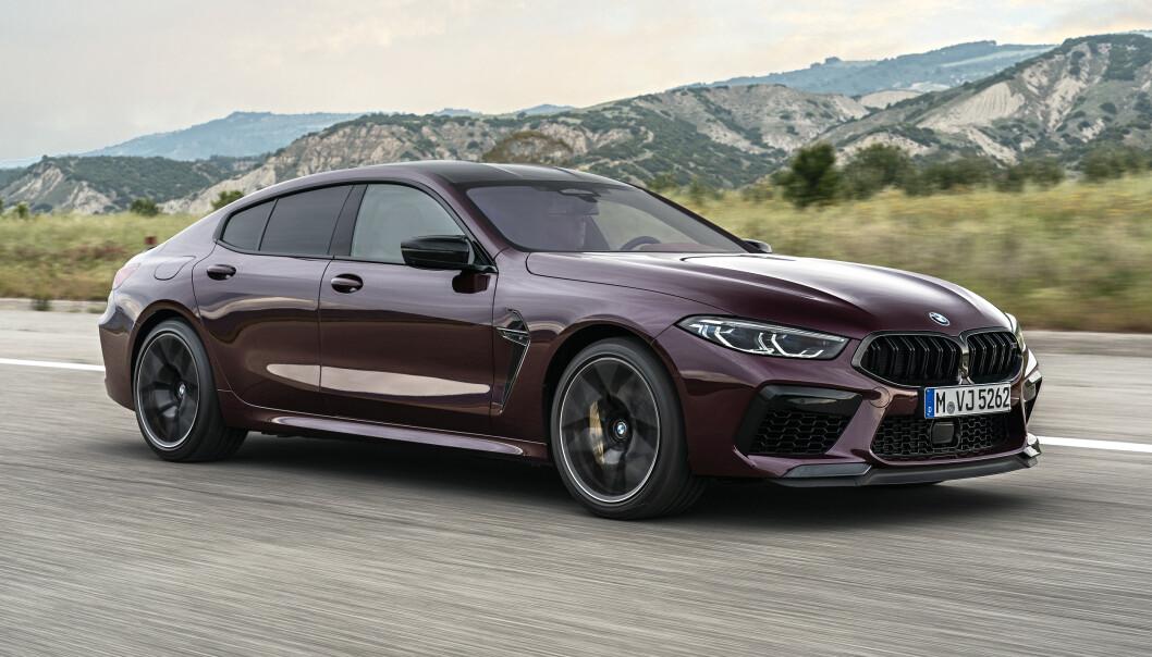 <strong>SEDAN:</strong> Gran Coupe er egentlig en stor luksussedan med sportslig linjeføring og ditto ytelser. Foto: BMW