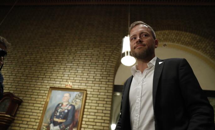<strong>VIL ØKE:</strong> Audun Lysbakken (SV) vil øke formuesskatten. Foto: Bjørn Langsem / Dagbladet