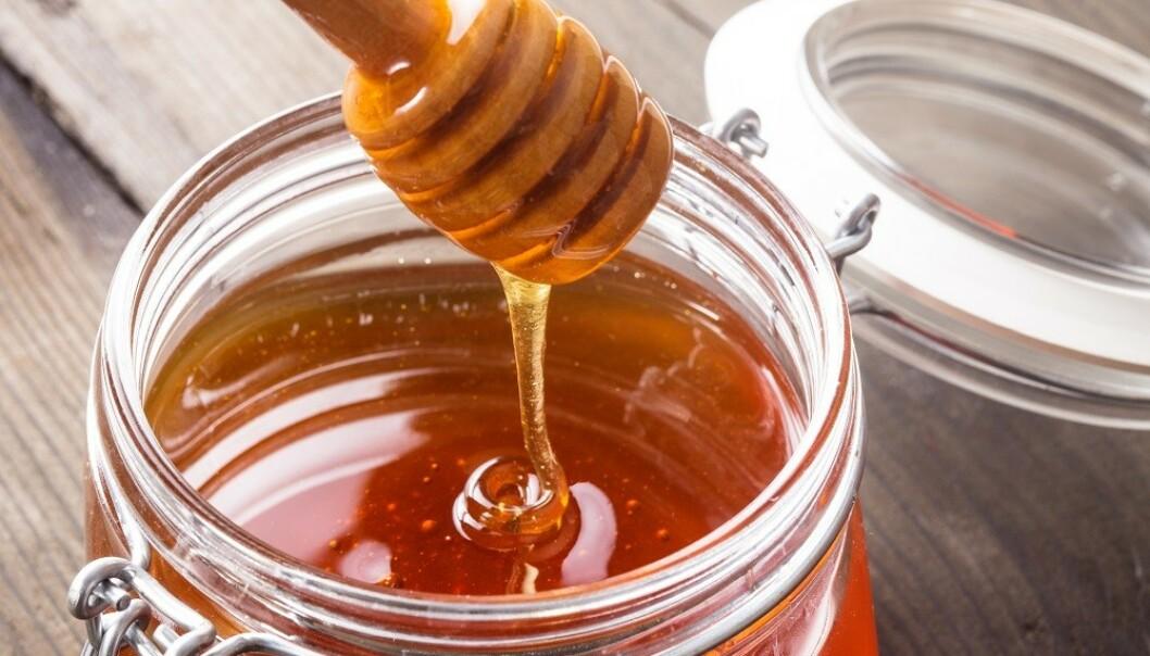 MEDISINSK HONNING: Visse typer honning kan ha en lindrende effekt på blant annet munnsår. FOTO: Scanpix