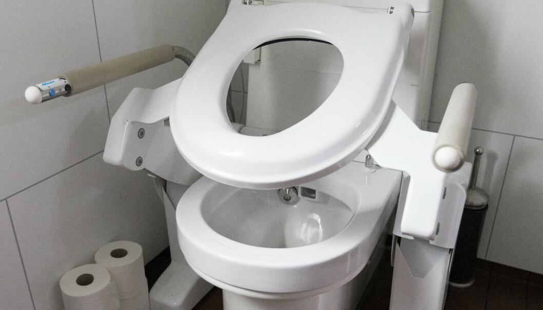 Toaletter bruker mye vann. Forskere i USA har utviklet en spray som danner et glatt belegg. Det redusere vannbruken. Illustrasjonsfoto: Gorm Kallestad / NTB scanpix