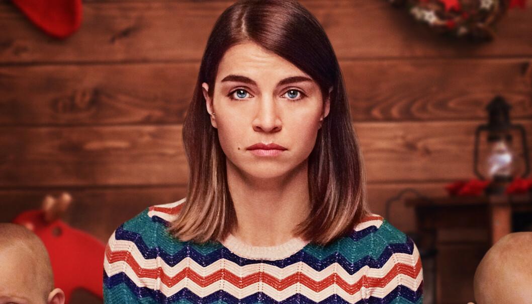 JAKTEN PÅ KJÆRLIGHETEN: Ida Elise Broch spiller hovedrollen som single Johanne i «Hjem til jul». FOTO: Netflix