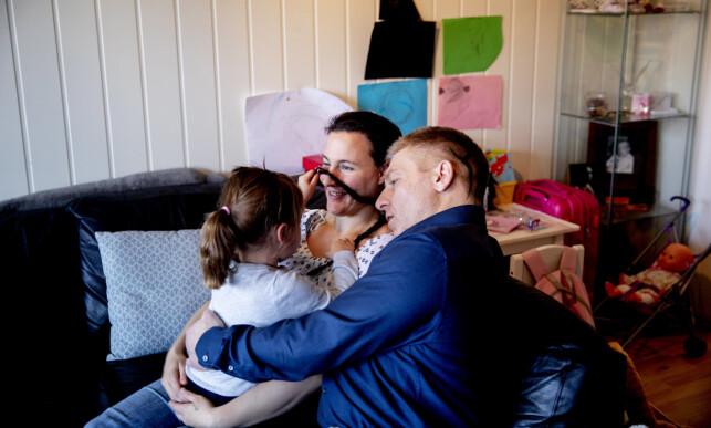 VANT: EMD mener Norge har krenket familien med svært restriktive samværsbetingelser etter omsorgsovertakelse. Foto: Siv Johanne Seglem