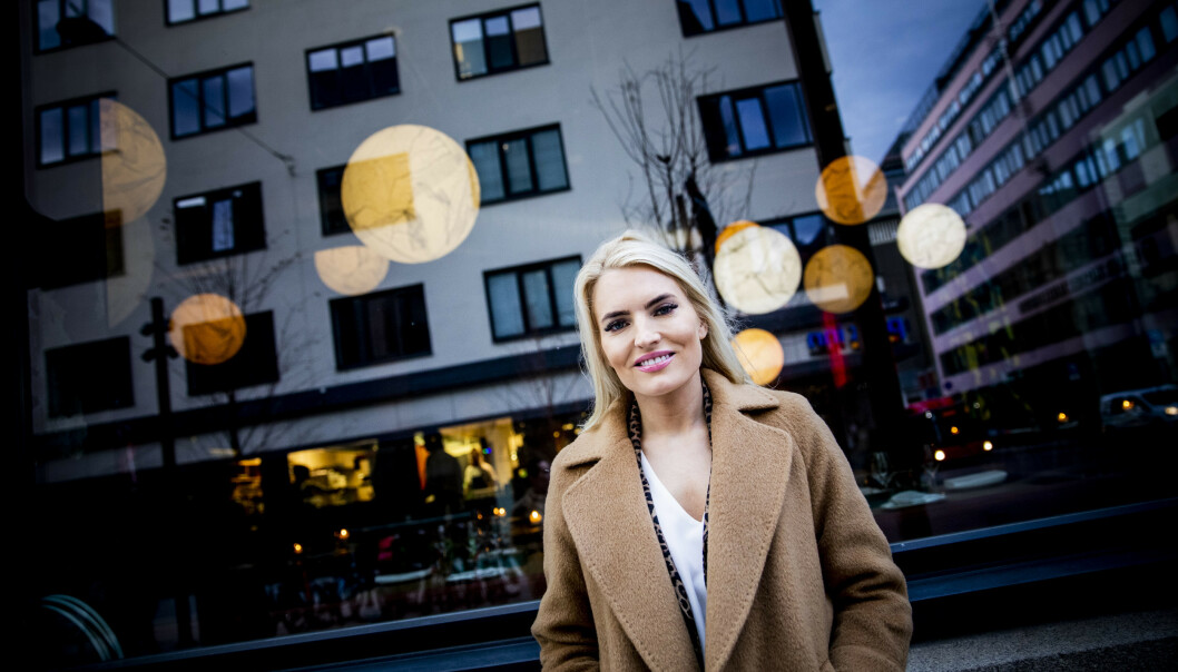 <strong>VIL GJØRE EN FORSKJELL:</strong> Isabelle Ringnes har mange mål. Ett av dem er å inspirere kvinner til å bli interessert i teknologi og å bidra til å forme framtida. Foto: Christian Roth Christensen / Dagbladet
