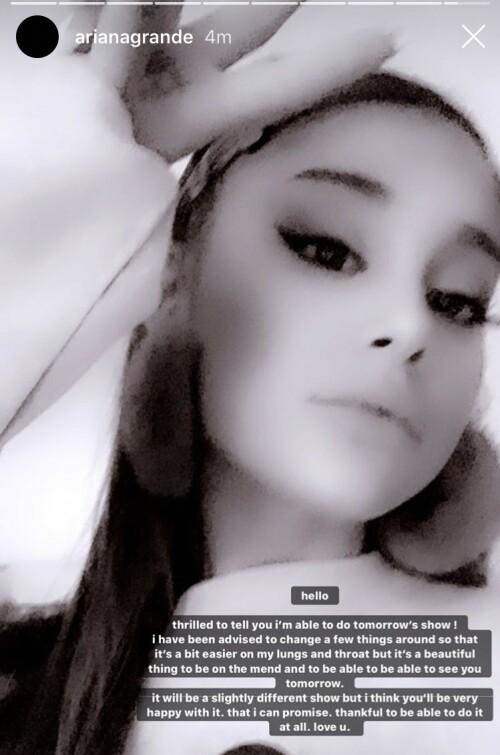 Foto: Ariana Grande / Instagram