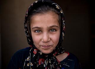 REDD: Åtte-årige Ghazal. Foto: Save the Children