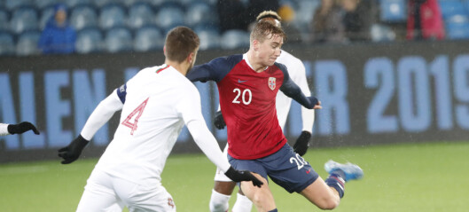 Knepent tap for U21-gutta
