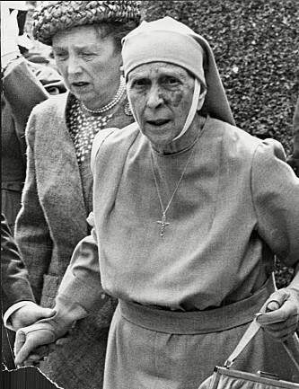 DYPT RELIGIØS: Prinsesse Alice var dypt religiøs og viet sitt liv til å hjelpe medmennesker. Hun levde sine siste år på Buckingham Palace. Foto: NTB Scanpix