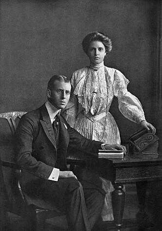 ROYALT EKTEPAR: Prinsesse Alice av Battenberg giftet seg med prins Andrew av Hellas i 1903. Foto: NTB Scanpix