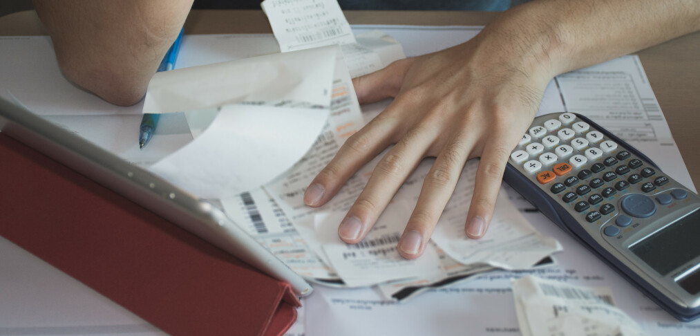 Betal kredittregningen i tide