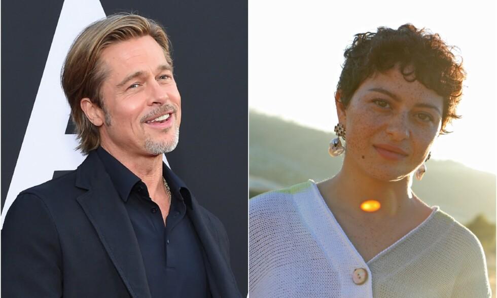 SINGEL: I 2016 skilte Brad Pitt seg fra Angelina Jolie. Han skal ha kastet seg ut i dating-livet igjen for lenge siden, men har ingen hast med å slå seg til ro. Den siste tiden har han blitt sett sammen med skuespilleren Alia Shawkat. Foto: NTB Scanpix