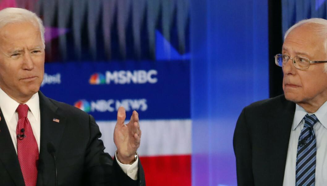 Riksrett åpningstema i debatt mellom presidentkandidater
