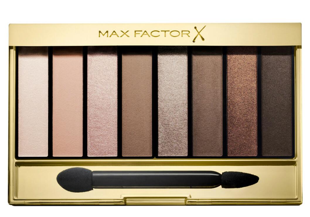 Øyenskygge   Max Factor   https://www.blush.no/product/1139679/sminke/oeyne/max-factor-masterpiece-nude-oeyenskyggepalett?utm_source=KKtutorialu48Kristine_mpnudepalette