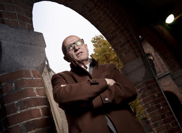 <strong>BESTEMT:</strong> Torbjørn Ek er tydelig på hvilke kunder han ikke ønsker å samarbeide med. Foto: Lars Eivind Bones / Dagbladet