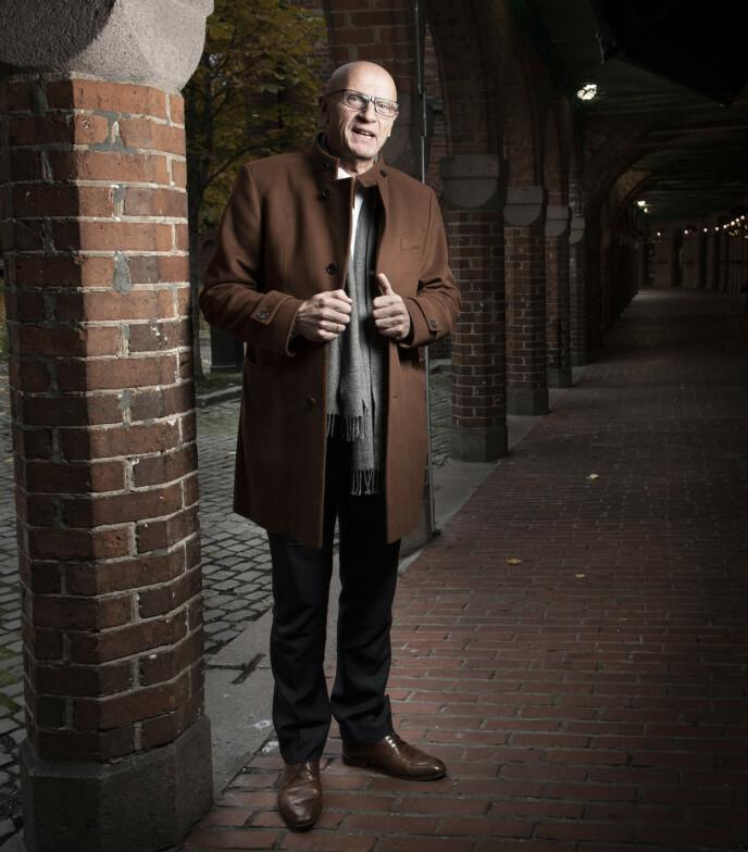 <strong>VELKLEDD:</strong> Når penger skifter hender i det øvre sjiktet av eiendomsmarkedet, er Torbjørn Ek gjerne involvert. Foto: Lars Eivind Bones / Dagbladet