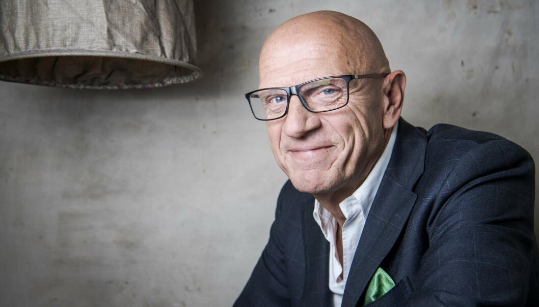 <strong>GRUNN TIL Å SMILE:</strong> De siste 20 åra har Torbjørn Eks selskap solgt nærmere 4000 boliger til anslått verdi på 30 milliarder kroner. Foto: Lars Eivind Bones / Dagbladet