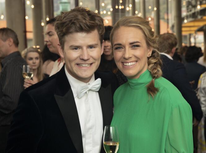 <strong>MYE PLANER:</strong> Nicolay Ramm og forloveden har mange baller i luften om dagen. Foto: Andreas Fadum / Se og Hør