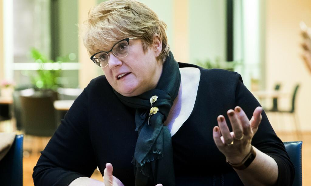 OSLO  20180207. Kulturminister Trine Skei Grande forventer full åpenhet i idretten. Foto: Berit Roald / NTB scanpix