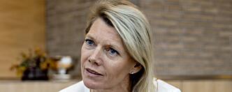 TAUSHET: DNB vil ikke opplyse om betingelsene for toppsjef Kjerstin Braathen før årsrapporten for 2019. Foto: Jørn H Moen