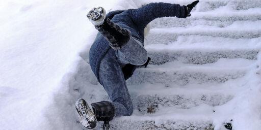 image: Unngå glatte trappetrinn