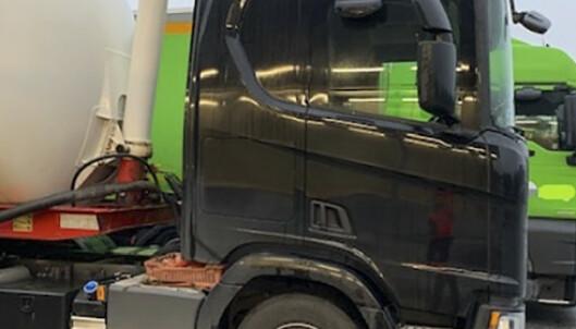 114 lastebiler fikk kjøreforbud i kontroller på svenskegrensa