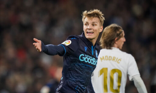 image: Ødegaard-tap i Madrid-returen