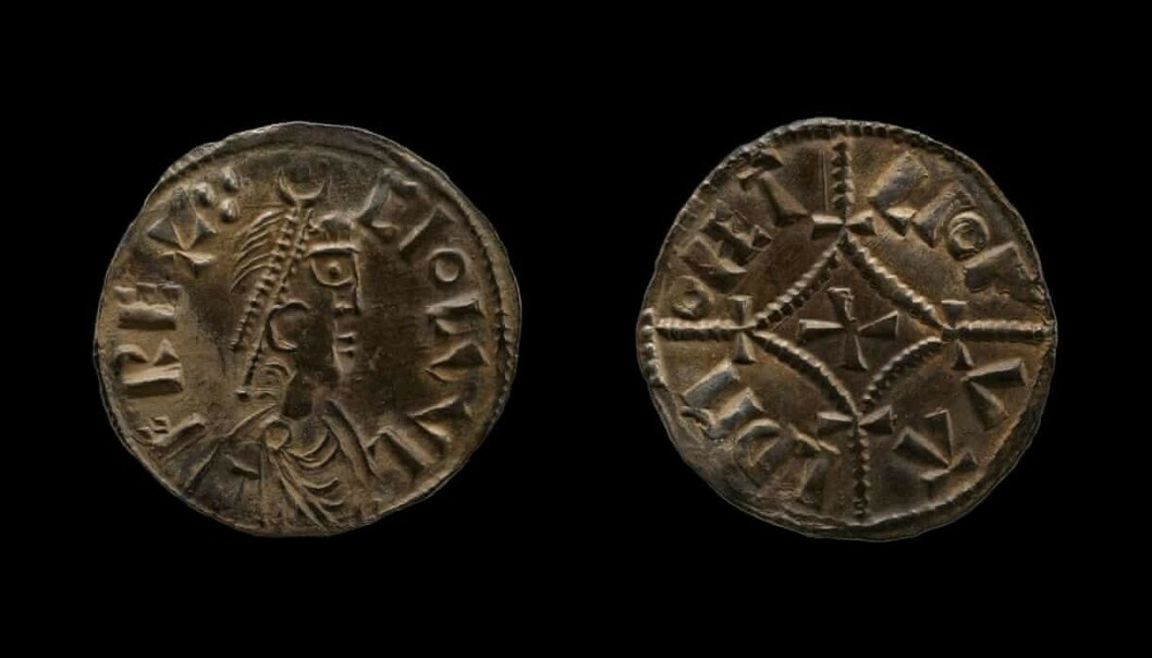 <strong>- UVURDERLIG:</strong> Historikere mener at disse myntene gir uvurderlig infomasjon om forholdet mellom kongedømmer og vikinghæren rundt år 878. Foto: British Museum