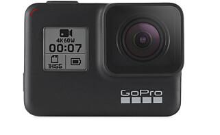 MANGEL: GoPro har fortsatt ikke videoskjerm foran. Du kan lett bruke GoPro-mobilappen til oppsett. Men til selfie-filming må du fortsatt gjette utsnittet. Foto: GoPro