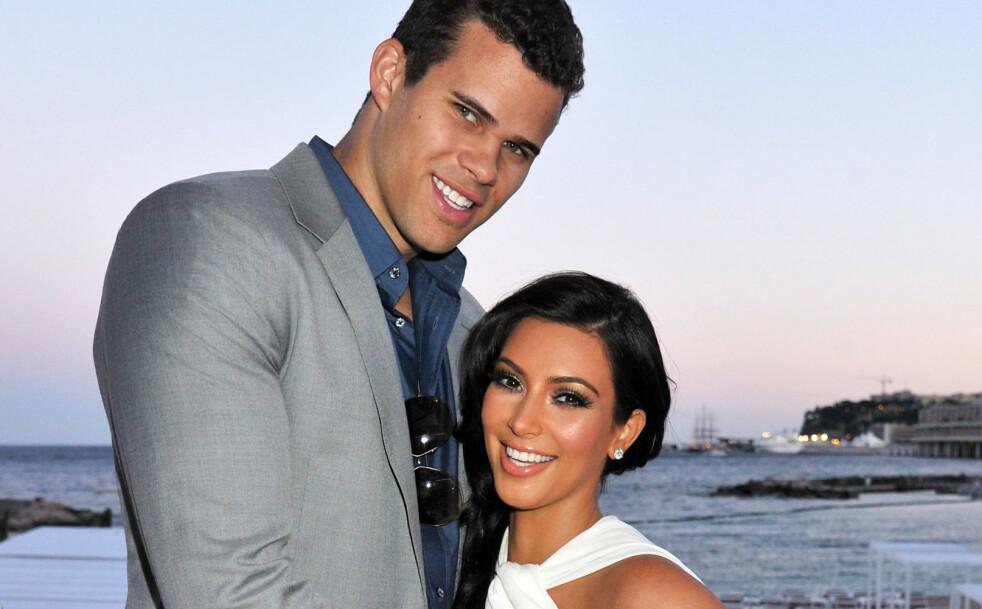 KORT EKTESKAP: Kris Humphries og Kim Kardashians ekteskap varte kun i 72 dager. Foto: NTB Scanpix