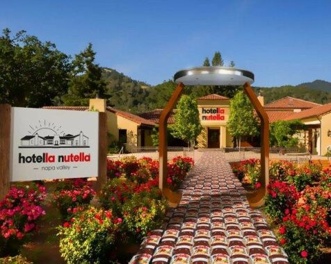 image: Nå åpner Nutella-hotellet