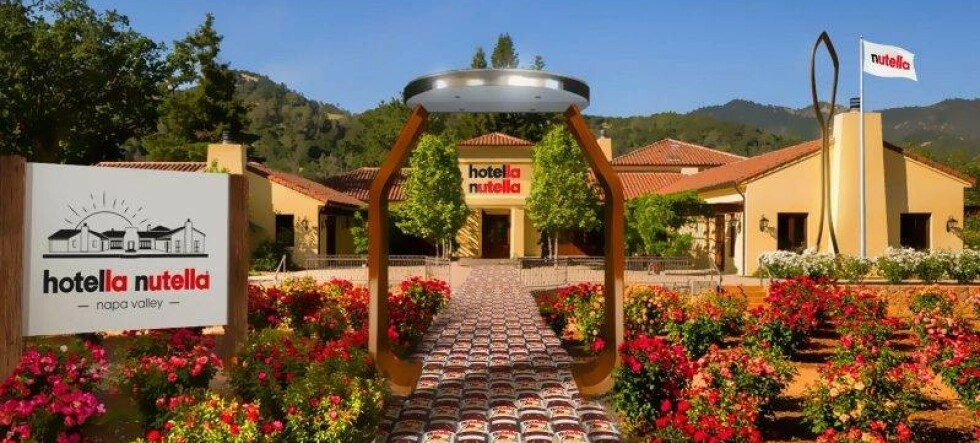 Nå åpner Nutella-hotellet
