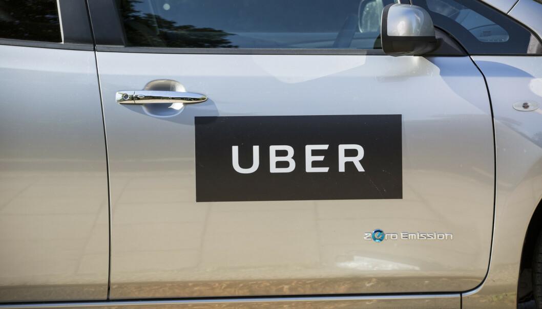 <strong>MOTSTAND:</strong> Britiske transportmyndigheter har nektet å fornye Ubers lisens. Selskapet har allerede anket avgjørelsen. Foto: NTB Scanpix