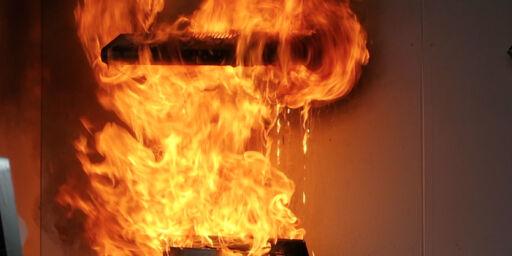 image: Kan være brannfelle