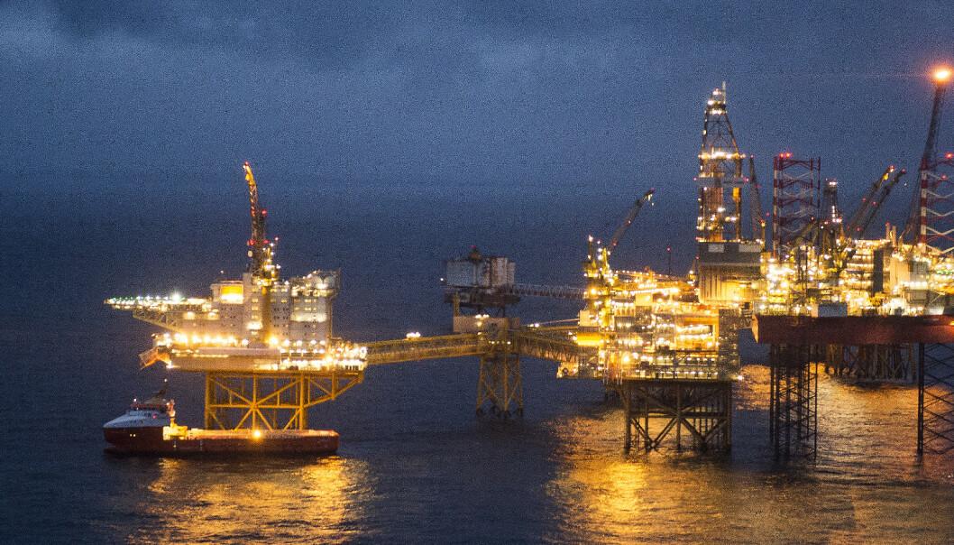 Oljefest i skattekista