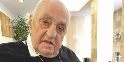 image: Møtte paven: - Likte ham veldig godt