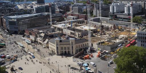 image: Opprydding på byggeplassen