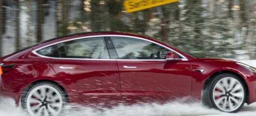 Storeslem for Tesla Model 3