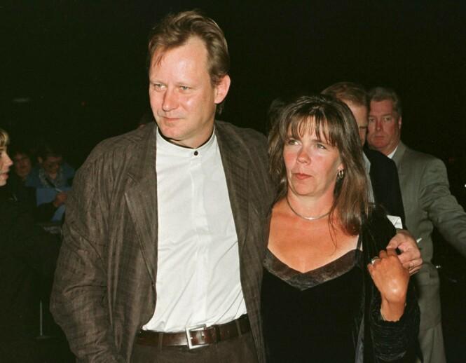 TIDLIGERE EKTEPAR: Stellan og My Skargård var gift i perioden 1975 til 2007. Dette bildet er tatt i 1998 - samme året My fikk påvist livmorhalskreft. FOTO: NTB scanpix