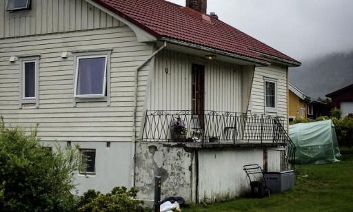 GOD STAND? Husets tidligere eier mener huset var i god stand da litauerne leide der. Foto. Einar Haakaas / Dagbladet