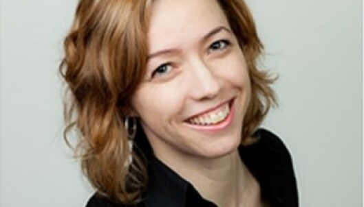 MANGE HELSEFORDELER: Kathrine M. Owe forsker på trening under graviditeten. FOTO: Privat