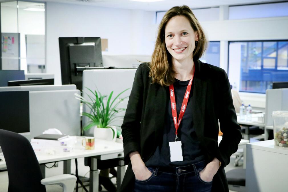 Lisa Malvina Wisløff oppsummerer hva hun har lært etter 100 dager som produkteier. 📸: Ole Petter Baugerød Stokke