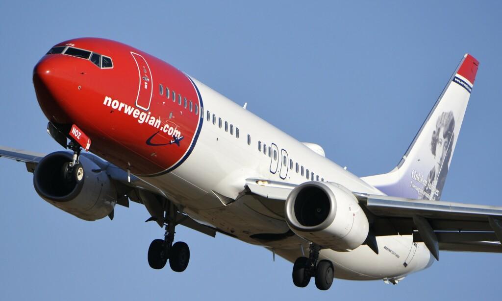 KRISELØSNING: Tirsdag morgen meldte NTB at statlig kjøp av aksjer i Norwegian kan komme på bordet som en løsning for å berge flyselskapet fra konkurs. Nyheten ble møtt av et umiddelbart byks på Oslo Børs. Foto: Johan Nilsson / TT / NTB scanpix