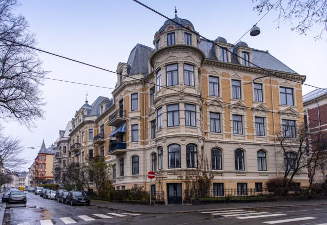 HERSKAPELIG: Gunhild Stordalen får hele tredje etasje til rådighet når hun flytter inn på den fasjonable adressen Inkognitogata 19, rett bak Slottet i Oslo sentrum. Foto: Lars Eivind Bones