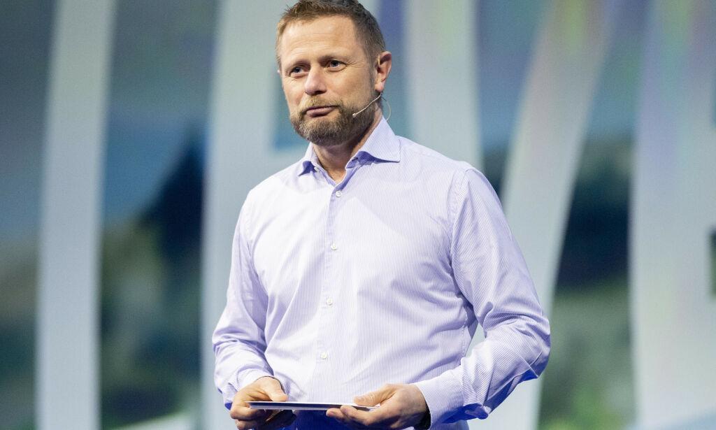 image: Høie henger i en tynn tråd