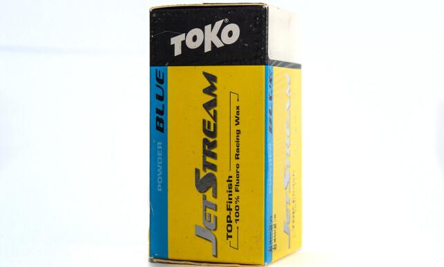 Det testede produktet: Toko Jetstream Powder Blue. Foto: Hans Arne Vedlog